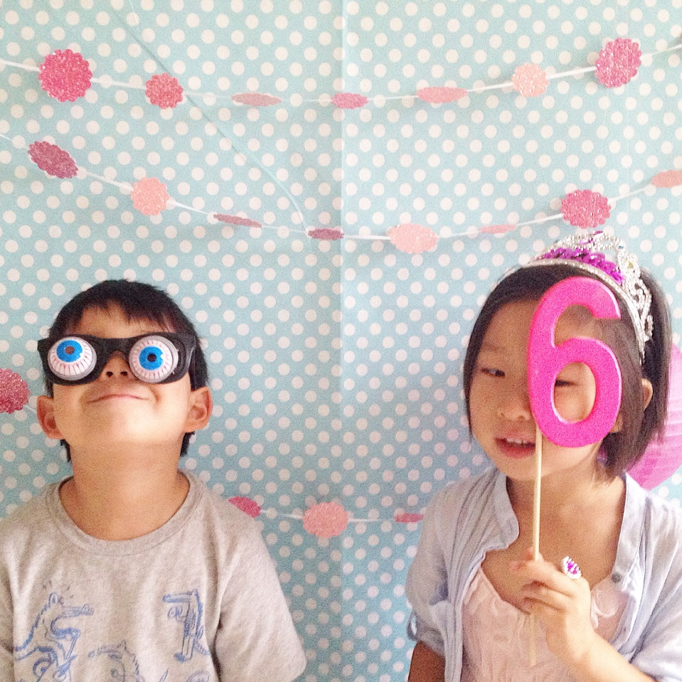 Eden's Birthday-photo booth