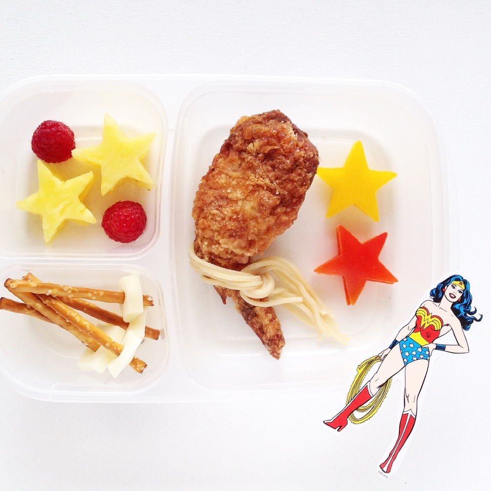 Superhero food