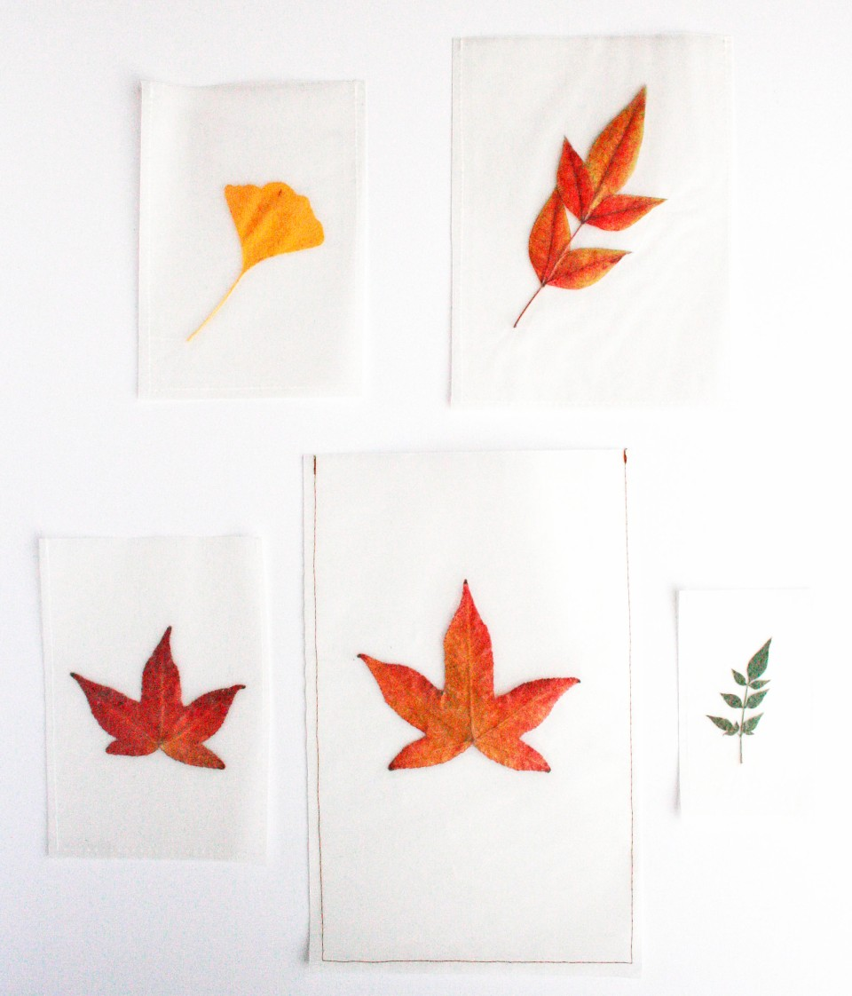 paper leaf bags
