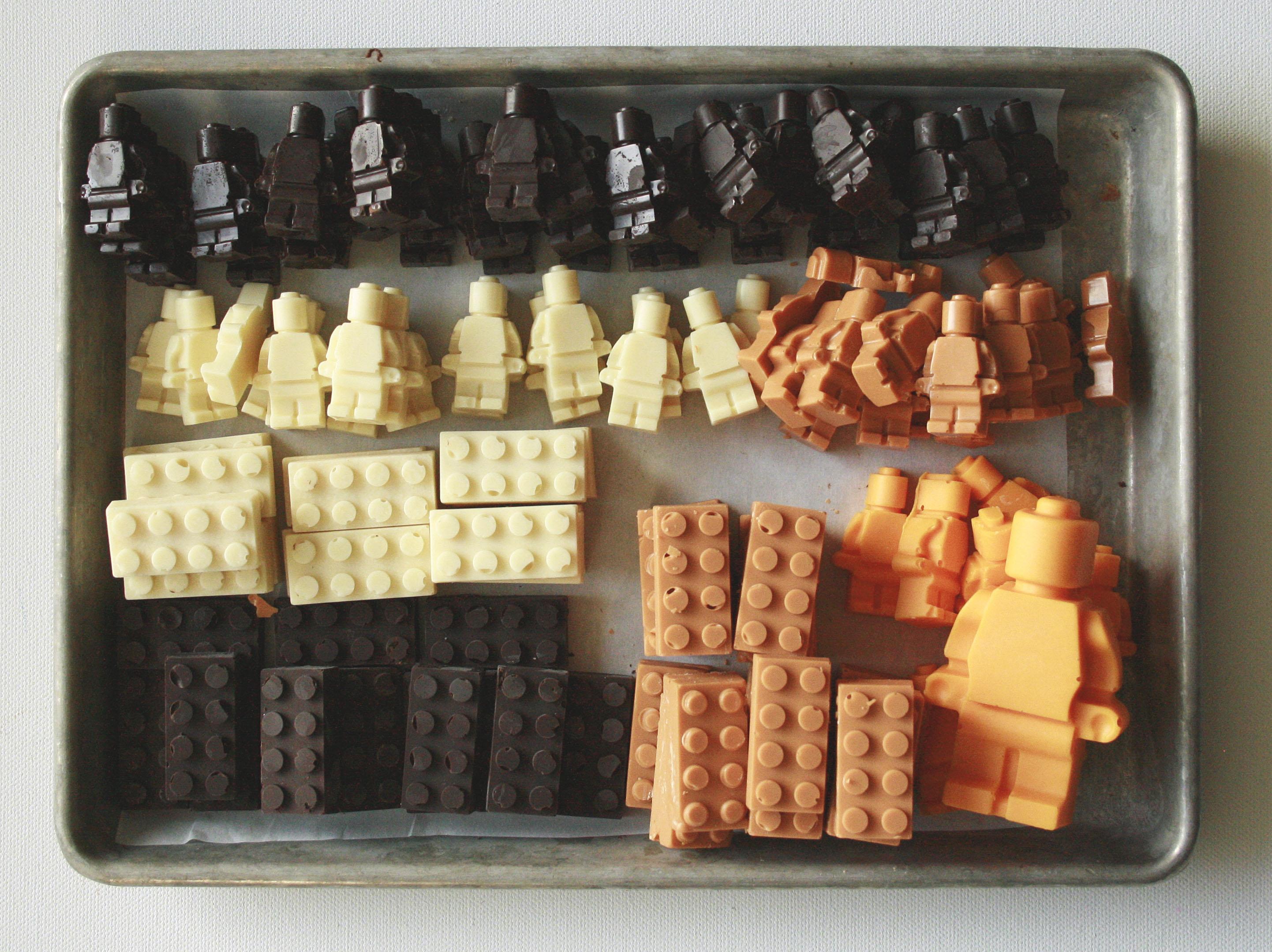Lego Birthday Party fathers workshop