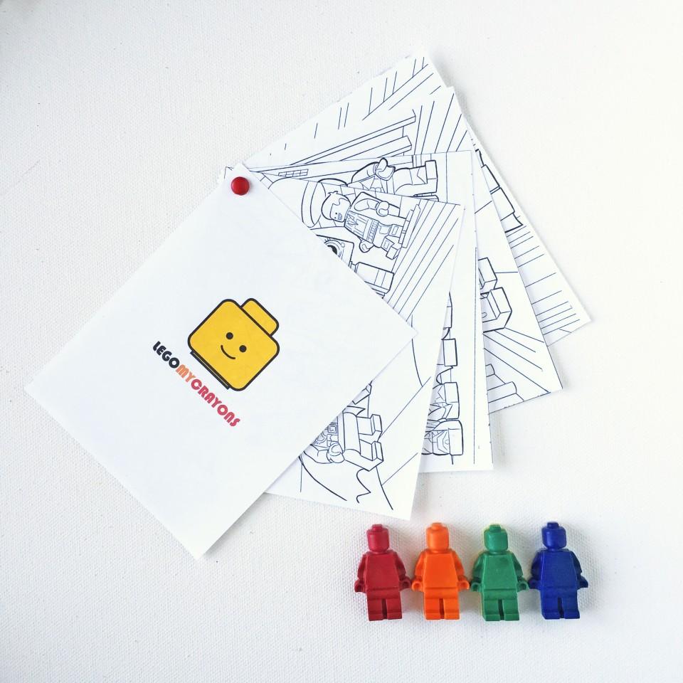 lego coloring book