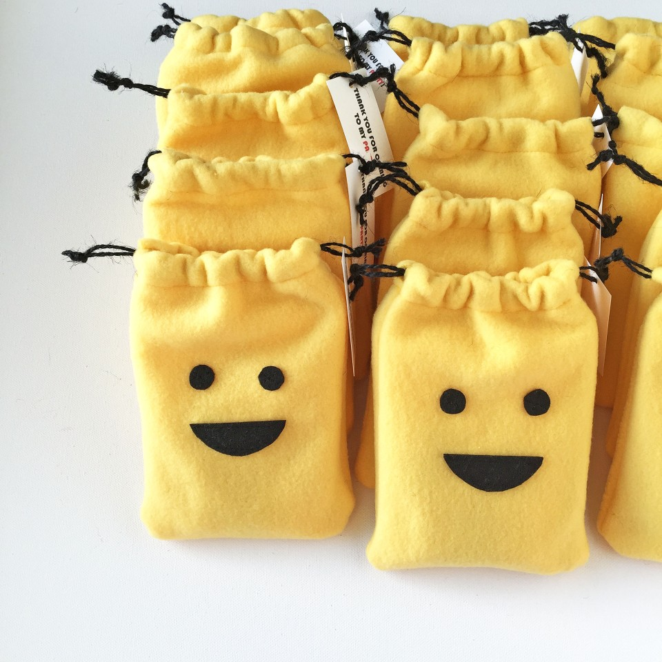 lego favor bag